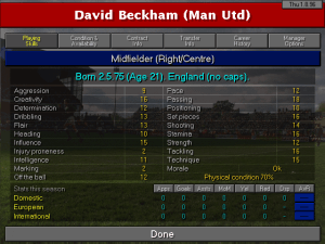 Championship Manager 2: Including Season 96/97 Updates 2