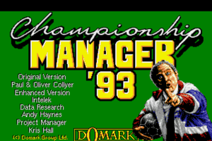 Championship Manager 93 0