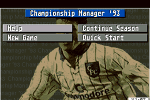 Championship Manager 93 1