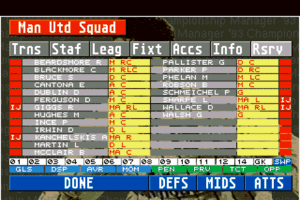 Championship Manager 93 4