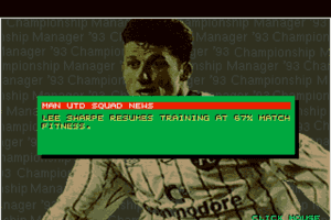 Championship Manager 93 8