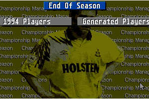 Championship Manager: End of 1994 Season Data Up-date Disk 1
