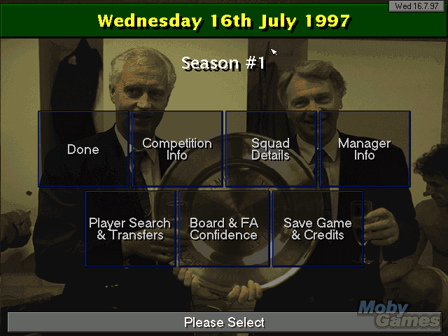 Play Championship Manager Season 97/98 Online