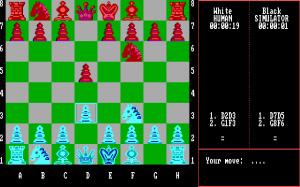 Chess Simulator abandonware