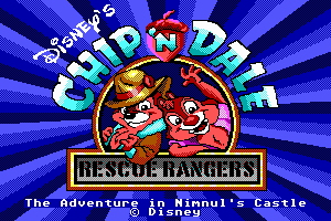 Chip 'N Dale Rescue Rangers: The Adventures in Nimnul's Castle 0