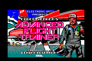 Chuck Yeager's Advanced Flight Simulator 1