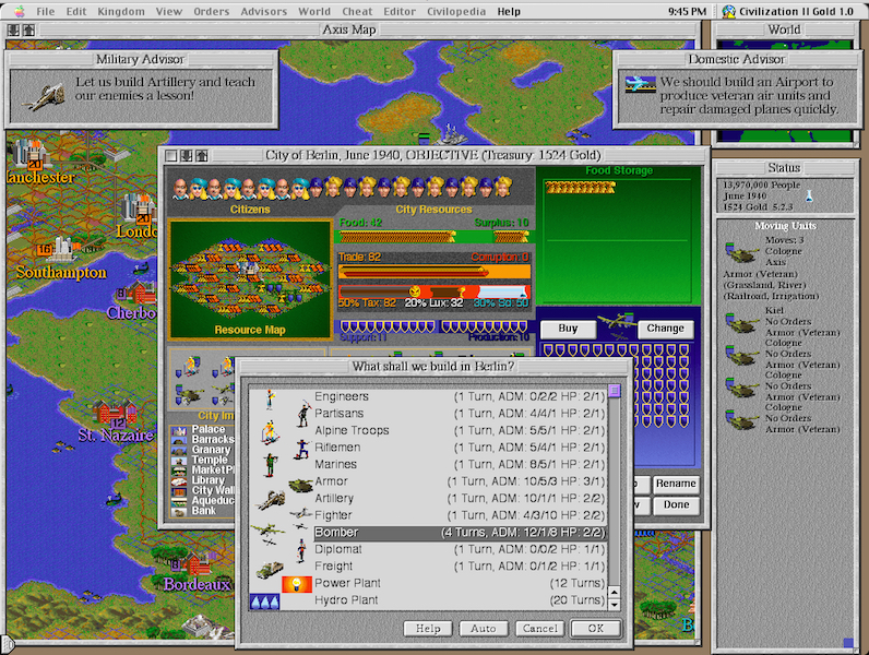 Download Civilization II: Multiplayer Gold Edition (Mac