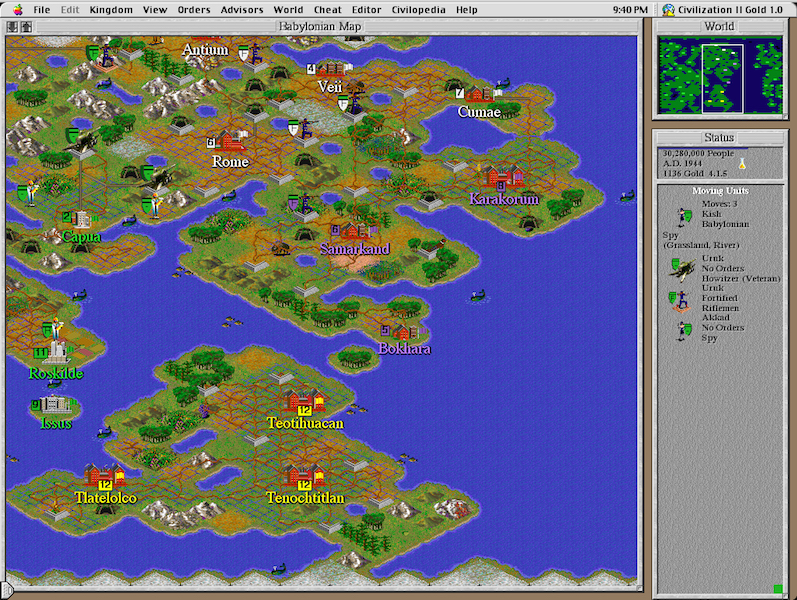 civilisation 2 multiplayer