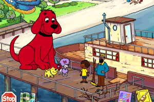 Clifford the Big Red Dog: Musical Memory Games abandonware