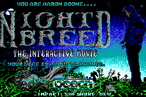 Clive Barker's Nightbreed: The Interactive Movie abandonware