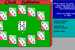 Clock Solitaire abandonware