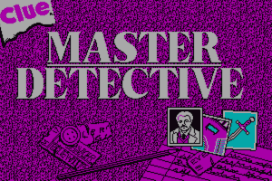 Clue: Master Detective 7
