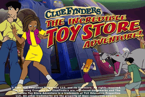 ClueFinders: The Incredible Toy Store Adventure 0