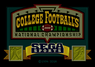 College Football's National Championship 0