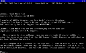 Colossal Cave Revisited abandonware