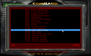 Command & Conquer: Red Alert - The Aftermath 0