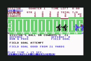 Computer Football Strategy 7