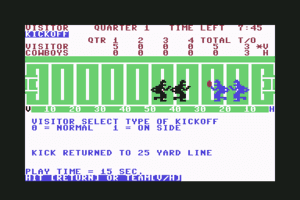 Computer Football Strategy 8