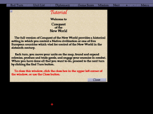Conquest of the New World abandonware