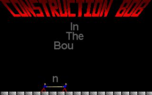 Construction Bob in the Bouncing Factory abandonware