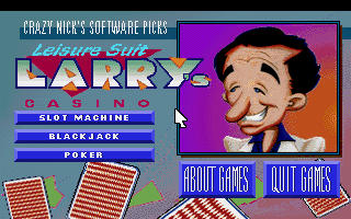 Crazy Nick's Software Picks: Leisure Suit Larry Casino 0
