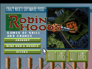 Crazy Nick's Software Picks: Robin Hood's Game of Skill and Chance 0