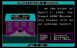 Crime Lab: Case of the Missing Masterpiece abandonware