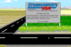 Crosscountry USA (Home Edition) 0
