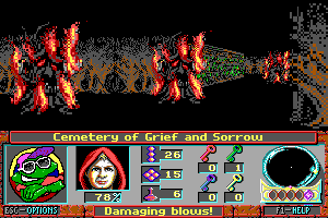 Curse of the Catacombs abandonware