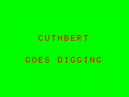 Cuthbert Goes Digging 2