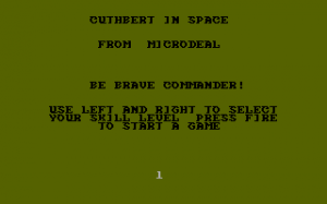 Cuthbert in Space 0