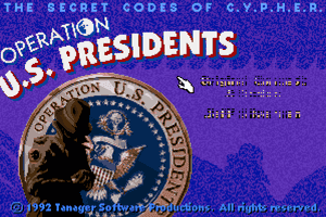 C.Y.P.H.E.R. Operation US Presidents 0