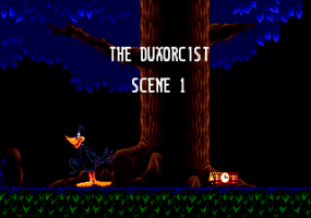 Daffy Duck in Hollywood abandonware