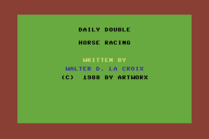 Daily Double Horse Racing 0