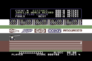 Daley Thompson's Decathlon 5