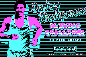 Daley Thompson's Olympic Challenge 1