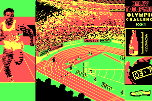 Daley Thompson's Olympic Challenge 8