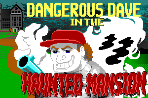 Dangerous Dave in the Haunted Mansion abandonware