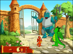 Darby the Dragon abandonware