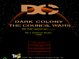Dark Colony: The Council Wars 0