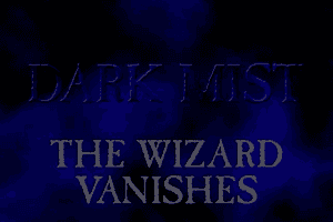 Dark Mist: The Wizard Vanishes 1