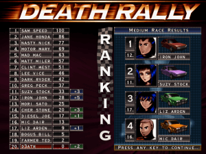Death Rally abandonware