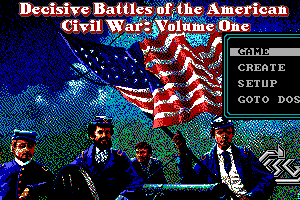 Decisive Battles of the American Civil War, Volume One 0