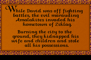 Defender of the Faith: The Adventures of David 16