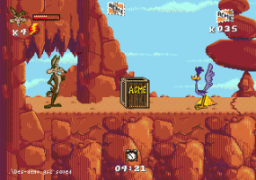 Desert Demolition Starring Road Runner and Wile E. Coyote abandonware