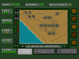 Desert Strike: Return to the Gulf abandonware