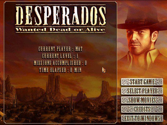 Desperados Wanted Dead Or Alive Windows My Abandonware