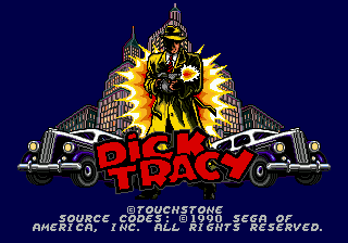 Dick Tracy 0