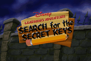 Disney Learning Adventure: Search for the Secret Keys 0