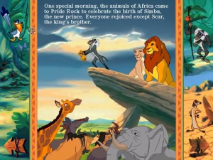 Disney's Animated Storybook: The Lion King 2